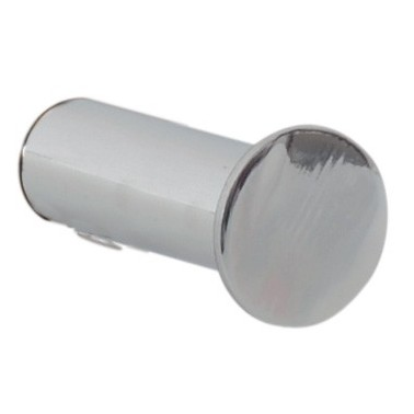 Percha simple sin base de acero inox brillo