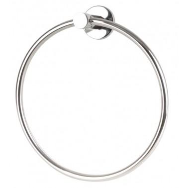 Toallero anilla de acero inox brillante