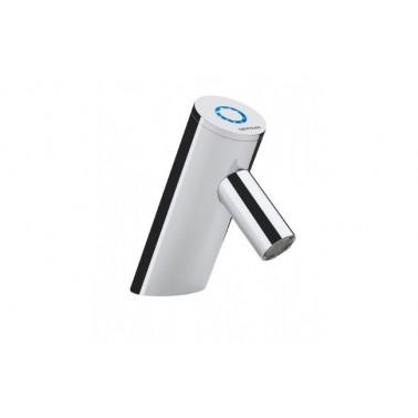 Grifo electrónico/temporizado SPOT con anillo luminoso y transformador 1 agua Unisan
