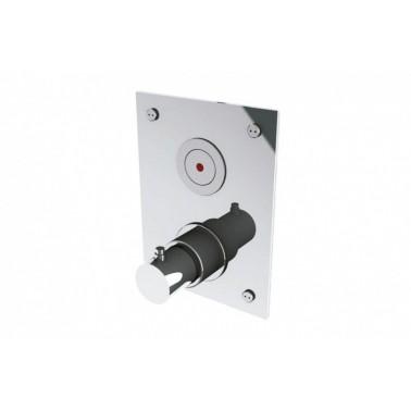 Grifo electrónico termoestático de ducha empotrado con Transformador DOMO TOUCH-DT PRESTO