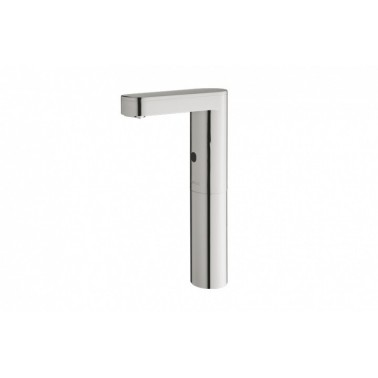 Grifo electrónico para lavabo de un agua con pila Soho-L con caño alto PRESTO