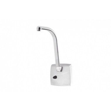 Grifo electrónico empotrado para lavabo con caño alto de epoxy con Pila 5520 PRESTO