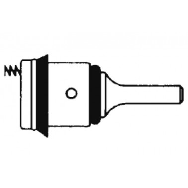 Pistón intercambiable para fluxor PRESTO