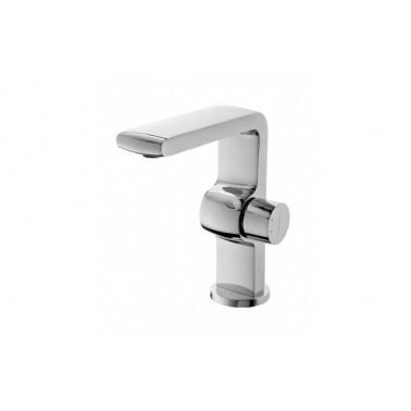 Grifo monomando de lavabo STATUS con válvula automática Unisan