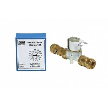 Sistema electrónico empotrado para lavabos o duchas Rada monocontrol 129 PRESTO