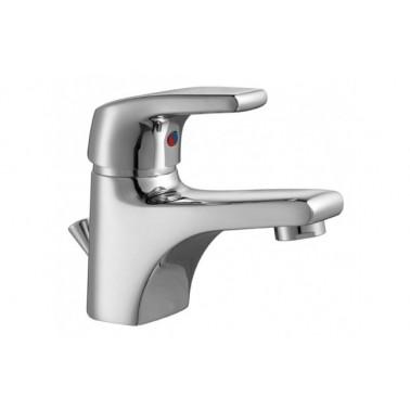 Grifo monomando de lavabo EASY con válvula automática Unisan