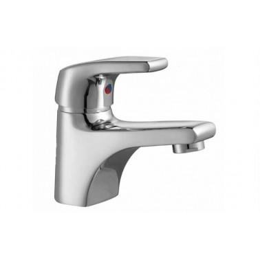 Grifo monomando de lavabo senior EASY con válvula automática Unisan