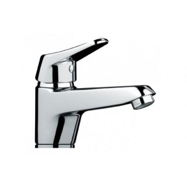 Grifo monomando de lavabo MIXA con válvula automática Unisan