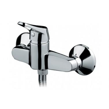 Grifo monomando de ducha MIXA con mano-ducha mixa y soporte Unisan