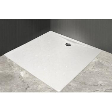 Plato de ducha antideslizante fabricado en acrílico de 900x900mm Presto