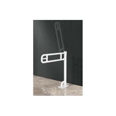 Asidero abatible con apoyo a suelo en aluminio recubierto de Nylon Presto