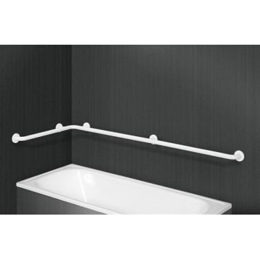 Asidero ángulo para bañera en aluminio recubierto de Nylon Presto