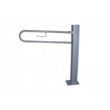 Asidero con pedestal fabricado en acero inoxidable Presto