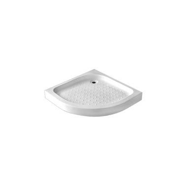 Plato de ducha extraplano acrílico angular medidas 90X90X5 Komercia