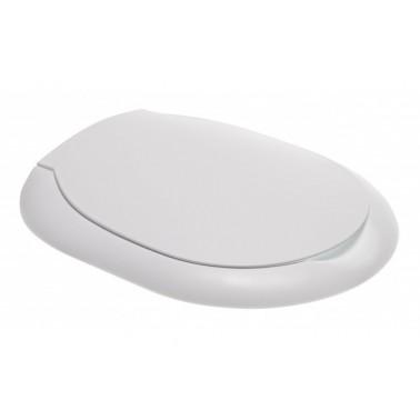 Tapa y asiento para inodoro infantil de color blanco