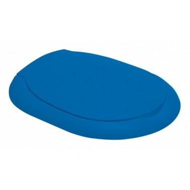 Asiento y tapa para inodoro infantil de color azul