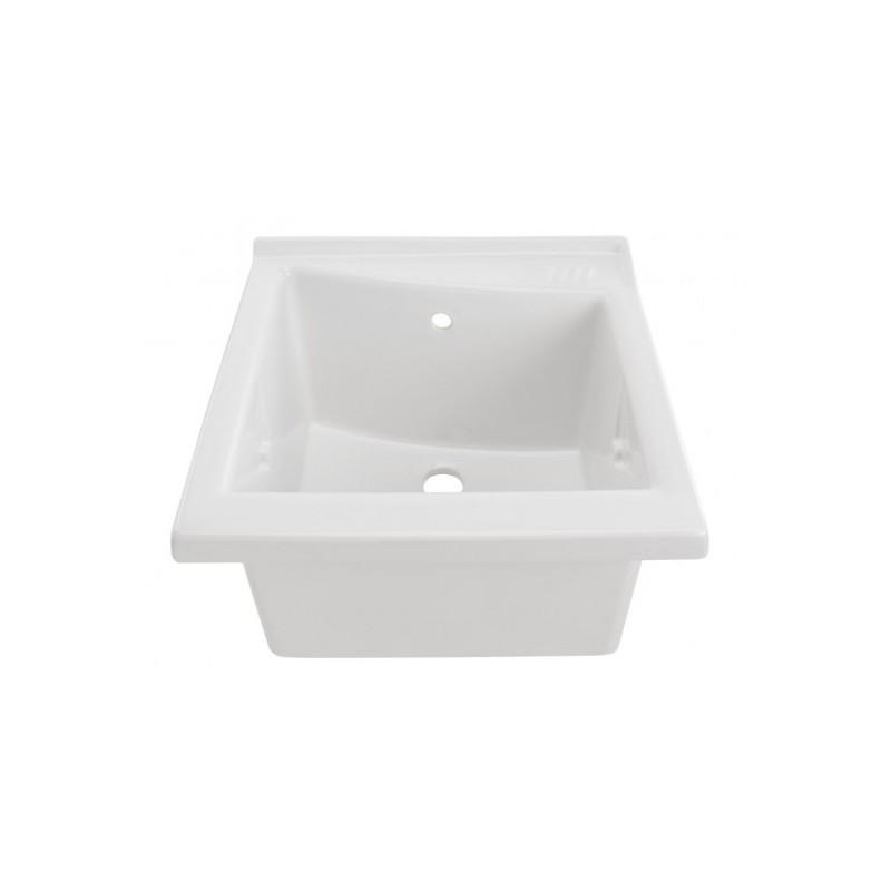 Lavadero de porcelana vitrificada blanca komercia for Lavadero porcelana