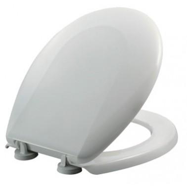 Tapa y asiento para inodoro de acero inoxidable Fricosmos