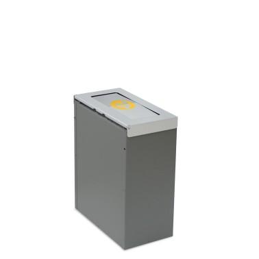 Papelera Niza Estándar Tapa Basculante 1 Residuo 45L CERVIC