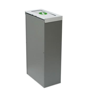 Papelera Niza Estándar Tapa Basculante 1 Residuo 75L CERVIC