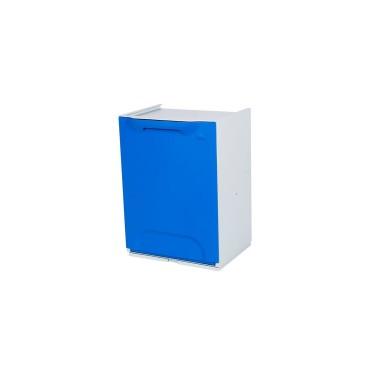 Contenedor de reciclaje apilable de 20L Advanced – Tapa Azul Cervic