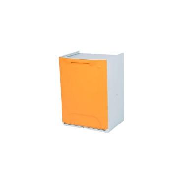 Contenedor de reciclaje apilable de 20L Advanced – Tapa Naranja Cervic