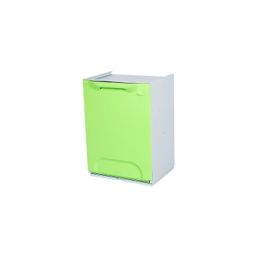 Contenedor de reciclaje apilable de 20L Advanced – Tapa Verde Cervic