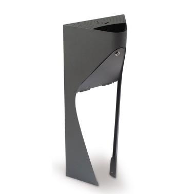 Cenicero urbano de pie con gran capacidad 15L modelo Urban Pro Cervic