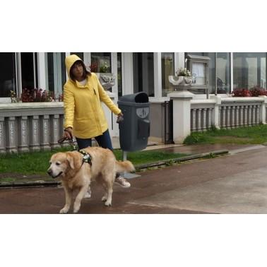 Poste anclable para papelera canica Beagle Bin Cervic