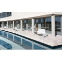 Banco de acero con respaldo entero modelo Ibiza Cervic