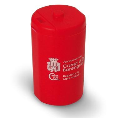 Contenedor Mini recicla pilas acabado opaco de 0'25L Cervic