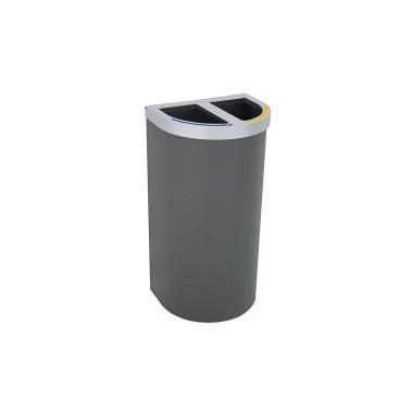 Papelera Niza Estandar 2 Residuos 95L CERVIC