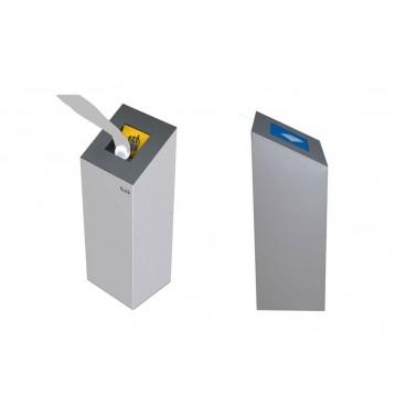 Papelera Altea 60L Tapa abierta 1 Residuo CERVIC