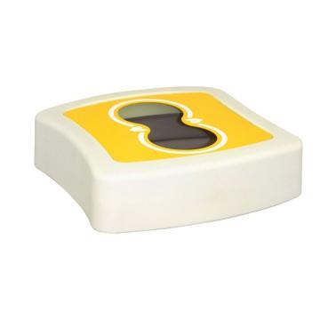 Papelera Milan 1 Residuo 100L con tapa con boca selectiva CERVIC