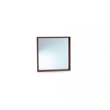 Espejo de baño con marco fabricado en madera Bathco