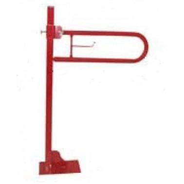 Asidero abatible sobre pedestal en acero lacado epoxy colores 60cm Komercia