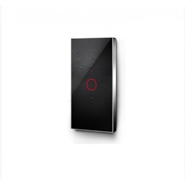 Grifo de ducha electrónico con pantalla táctil y dos salida modelo E-tech Galindo