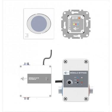Sistema electrónico con módulo de alta potencia modelo Ness Confort Galindo