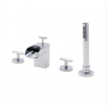 Grifo de baño/ducha para instalación en repisa modelo Loveme Galindo