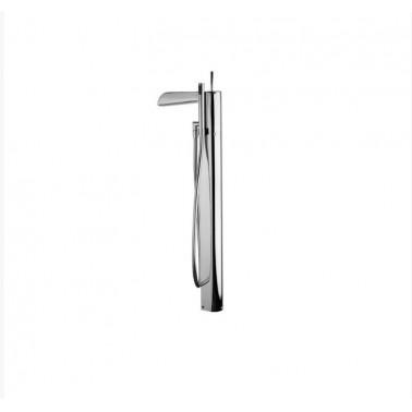 Grifo de pie para baño/ducha con accesorios de ducha modelo Loveme Galindo