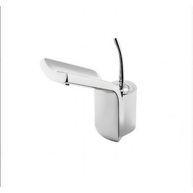 Grifo de lavabo son desagüe semiautomático modelo Jump Galindo