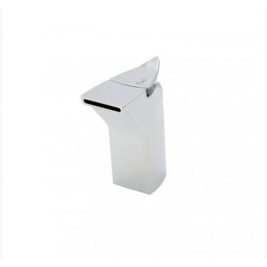 Grifo medio de lavabo sin desagüe semiautomático modelo MyGod Galindo