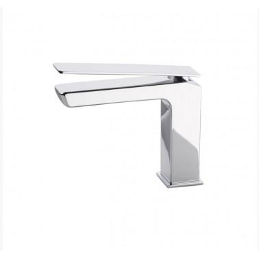 Grifo de lavabo con desagüe semiautomático modelo Kissme Galindo