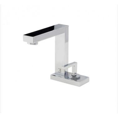 Grifo de lavabo con desagüe semiautomático modelo Zen Galindo