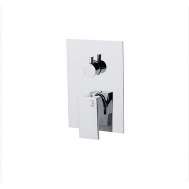 Grifo de ducha empotrado con tres vías modelo Zen Galindo