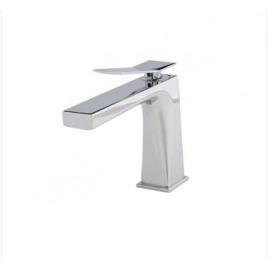 Grifo de lavabo con desagüe semiautomático modelo Wave Galindo