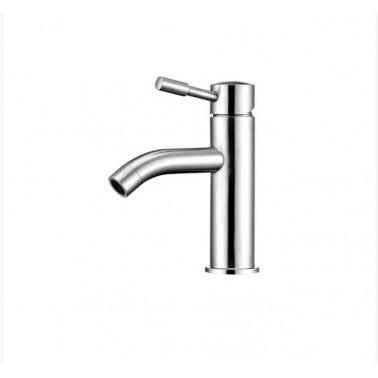 Grifo de lavabo fabricado en acero inoxidable AISI 304 modelo Inox Galindo