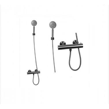 Grifo de ducha fabricado en acero inoxidable AISI 304 modelo Inox Galindo