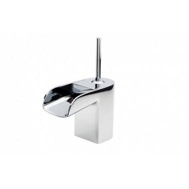 Grifo de lavabo con desagüe semiautomático modelo Loveme Galindo