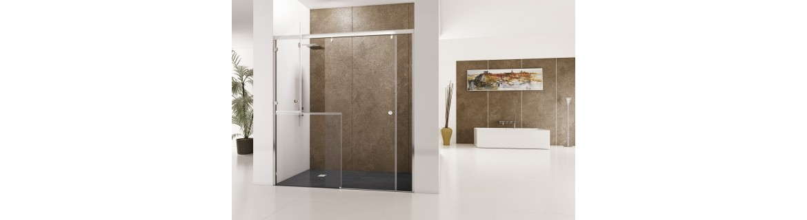 Shower enclosures for the disabled
